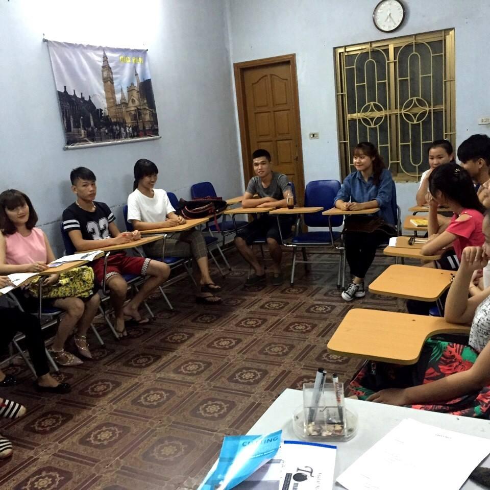 Lớp Tiếng Anh toeic tại trung tâm ngoại ngữ hải phòng