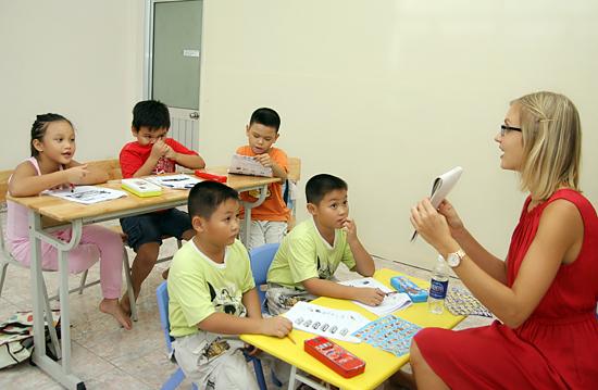 Trung tâm ngoại ngữ Tomato chuyên dạy tiếng anh trẻ em Uy tín