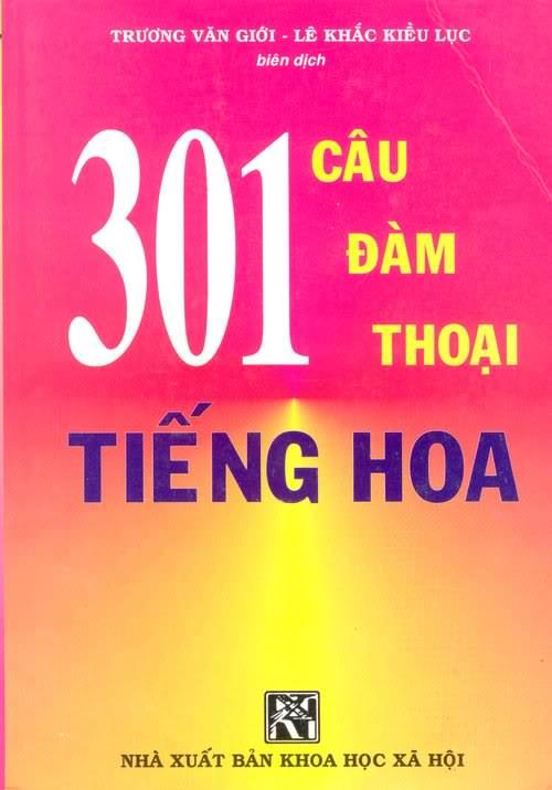 Cần bán sách 301 câu đàm thoại tiếng Hoa