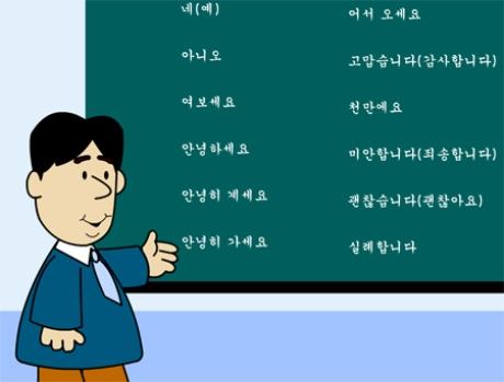 Học tiếng Hàn giao tiếp Hải Phòng