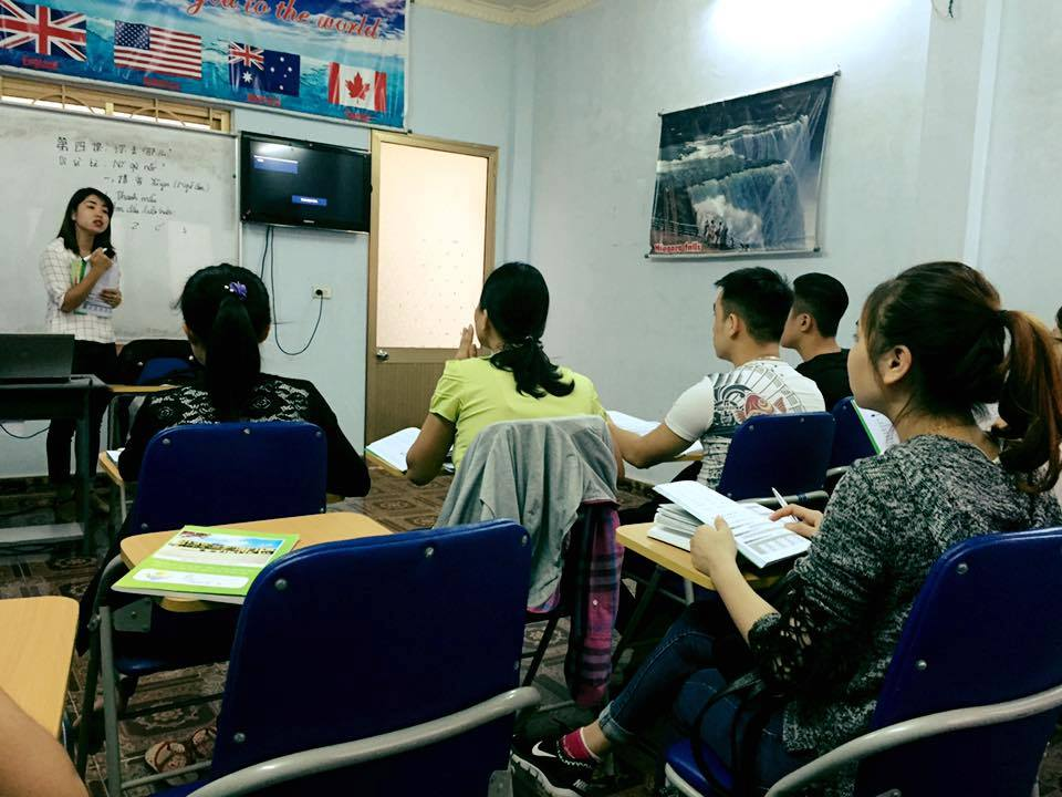 Đào tạo tiếng trung giao tiếp tại Hải Phòng
