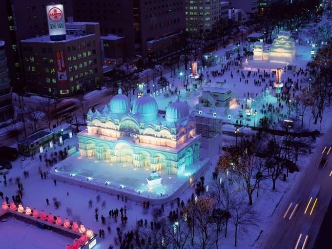 lễ hội mùa đông Nhật Bản