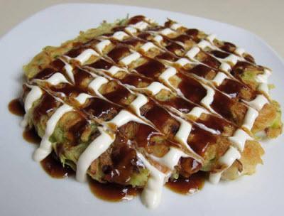 món Okonomiyaki Nhật Bản