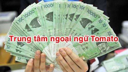 Nhận chuyển tiền từ Việt Nam sang Hàn Quốc free phí giao dịch