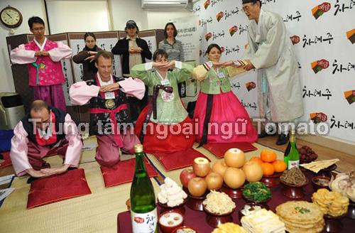 Phong tục đón Tết ở Hàn Quốc