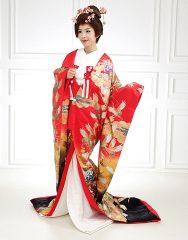 trang phục Uchikake Nhật Bản