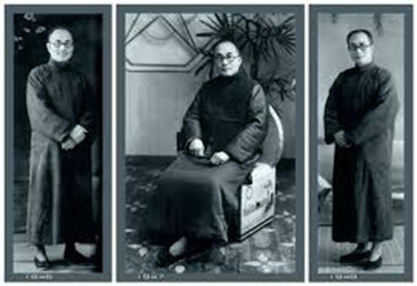trang phục truyền thống của đàn ông Trung Quốc