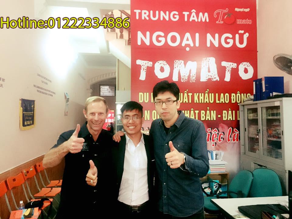 Trung tâm tiếng anh Tomato Hải Phòng